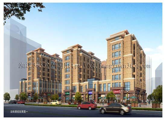 香榭丽大道5、6、7号沿街楼效果图